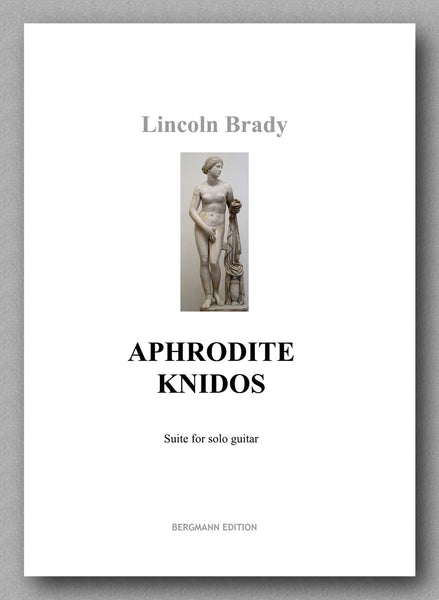 Lincoln Brady:  APHRODITE KNIDOS - preview of the cover