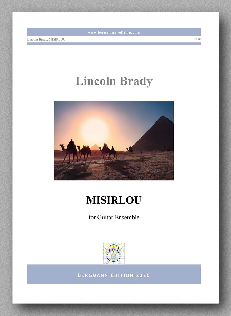 Lincoln Brady, Misirlou - preview of the cover