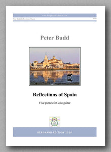 Peter Budd, Reflections of Spain - preview of the cover