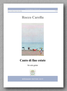 Rocco Carella, Canto di fine estate - preview of the cover
