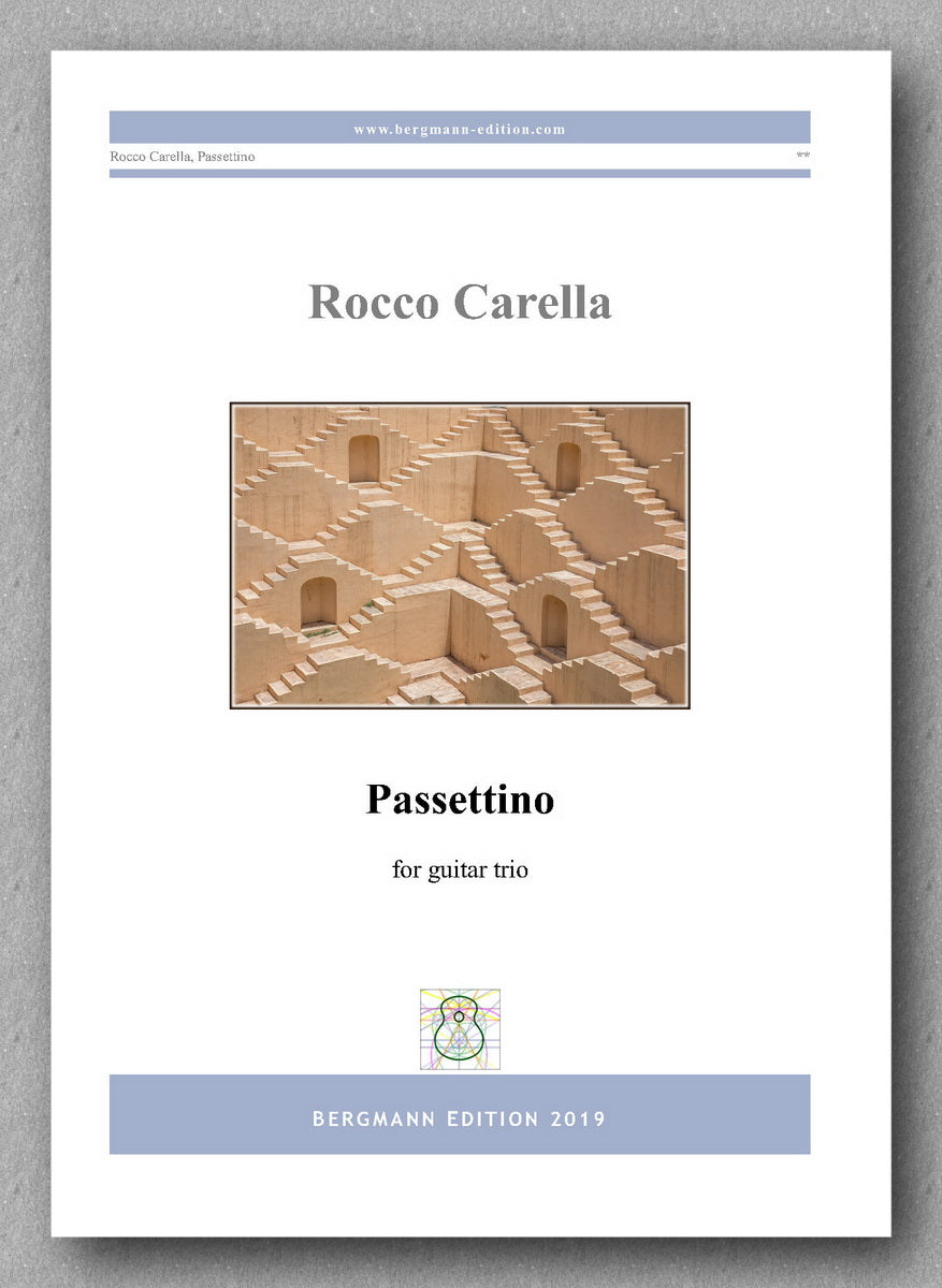 Rocco Carella, Passettino - preview of the cover