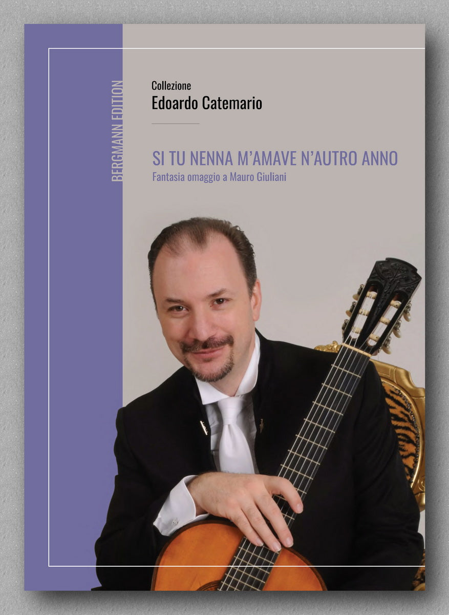 Edoardo Catamario, Si tu nenna m'amave n'autro anno - preview of the cover