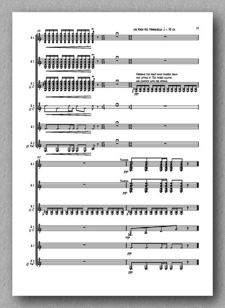 Castilla Ávila, HEX - preview of the music score 3