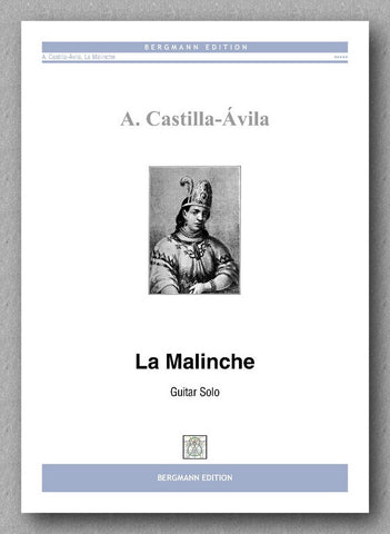 Castilla Ávila, La Malinche - preview of the cover