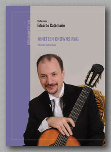 Edoardo Catemaro, Nineteen Crowns Rag - preview of the cover