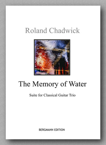 Chadwick, The Memory of Water - preview of the cover