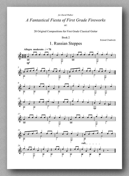 Chadwick, A Fantastical Fiesta - Book 2 - preview of the sheet music 1