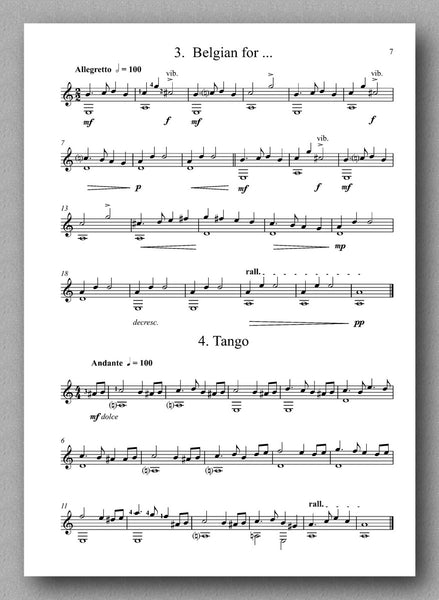 Chadwick, A Fantastical Fiesta - Book 2 - preview of the sheet music 2
