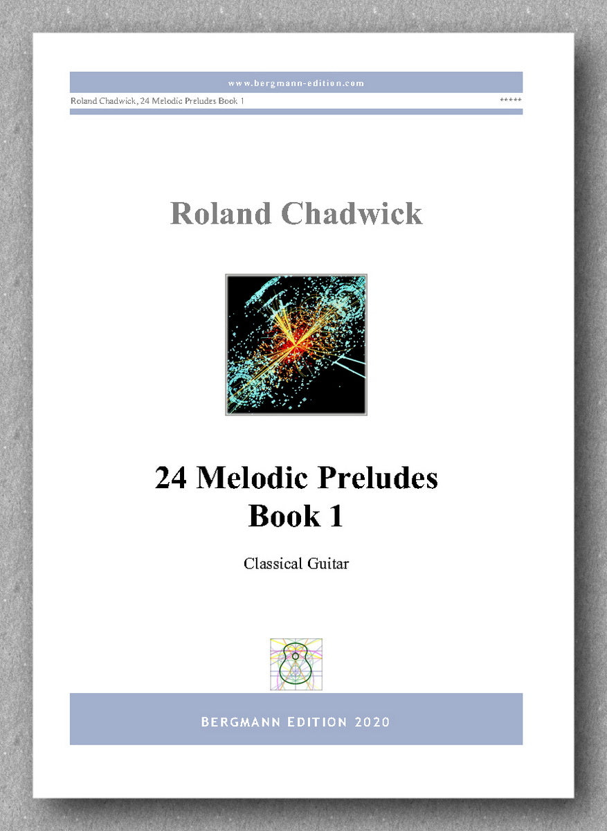 Roland Chadwick, 24 Melodic Preludes, Book 1 - preview of the cover