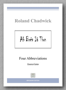 Chadwick, Four Abbrevations - preview of the cover