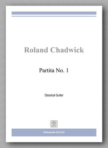 Chadwick, Partita No. 1 - Preview of the cover