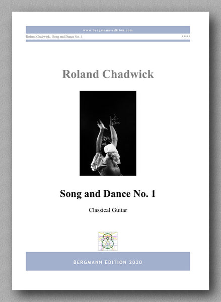 Chadwick, Song & Dance No. 1 - preview of the cover