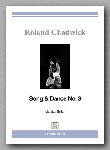 Chadwick, Song & Dance No. 3 - preview of the cover