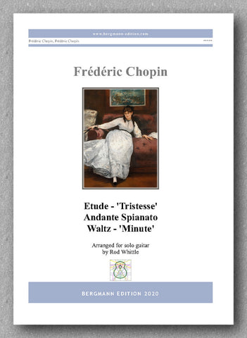 Frédéric Chopin A collection of three pieces - preview of the cover