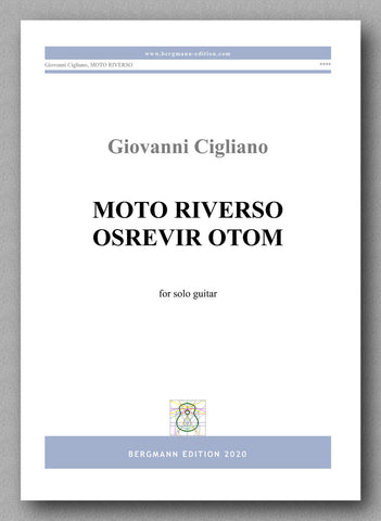 Giovanni Cigliano, Moto Riverso - preview of the cover