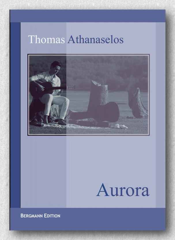 Thomas Athanaselos, Aurora  A piece for solo guitar. Cover.