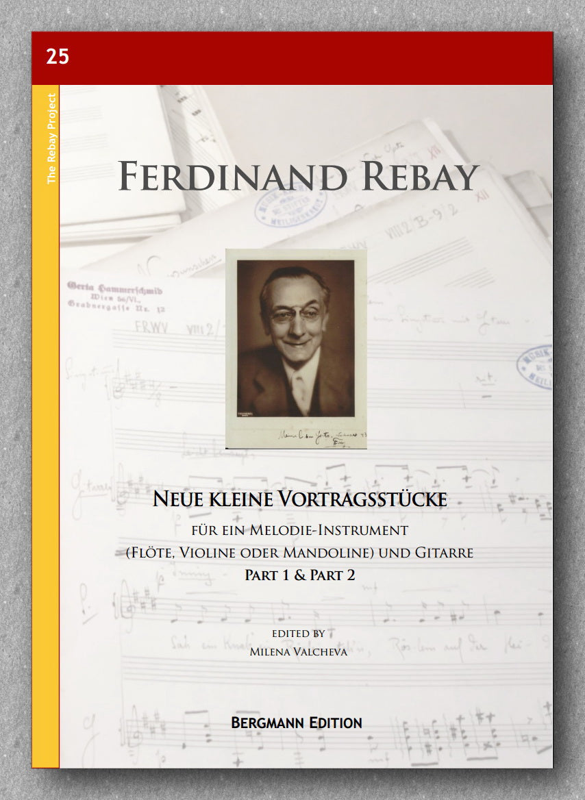 Rebay [025], Neue kleine Vortragsstücke, Preview of the cover