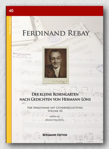 Rebay [040], Der kleine Rosengarten III - preview of the cover
