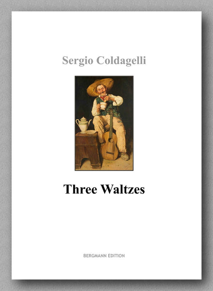 Coldagelli, Three Waltzes - preview of the front cover