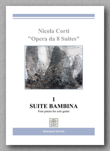 Nicola Corti, 1.-Suite Bambina - preview of the cover
