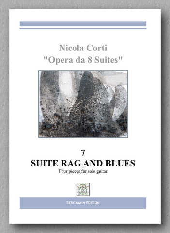 Nicola Corti, 7. Suite Rag and Blues, for solo guitar - preview of the cover