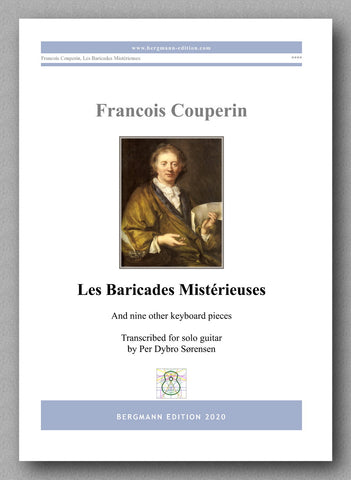 Francois Couperin, Les Baricades Mistérieuses  - preview of the cover
