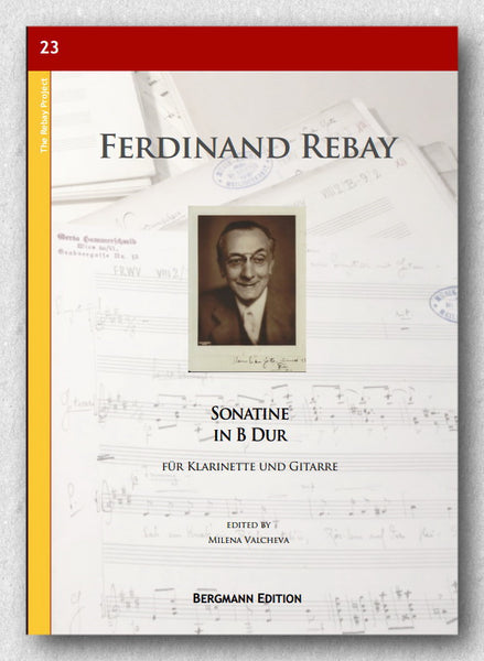 Rebay [023], Sonatine in B Dur. Preview of the cover.