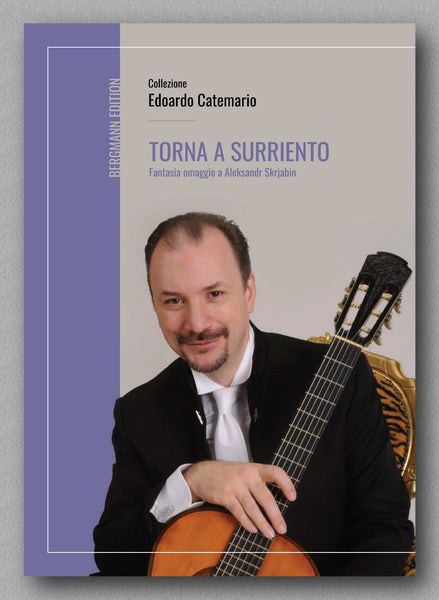 E. De Curtis, Torna a Surriento - preview of the cover