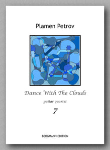 Dance With The Clouds, guitar quartet 7 by Plamen Petrov - preview of the cover