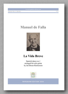 La Vida Breve, Spanish Dance No. 1 by Manuel de Falla - preview of the cover
