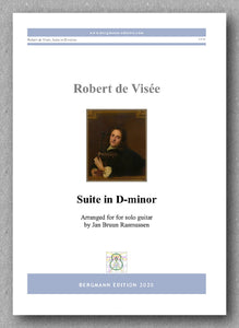 Robert de Visée, Suite in D-minor - preview of the cover