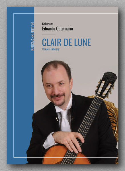 Claude Debussy, Clair de lune - preview of the cover