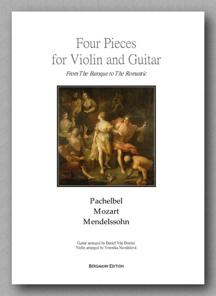 Four Pieces for Violin and Guitar, cover