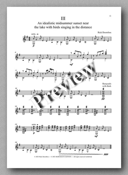 Suite No. 1 by Rick Doornbos - music score 3