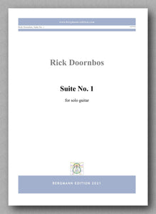 Suite No. 1 by Rick Doornbos - cover