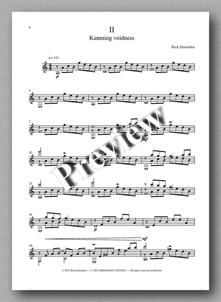 Suite No. 1 by Rick Doornbos - music score 2