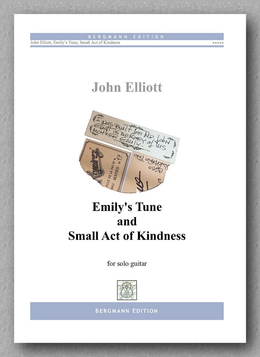 John Elliott,  Emily's Tune and Small Act of Kindness  - preview of the cover