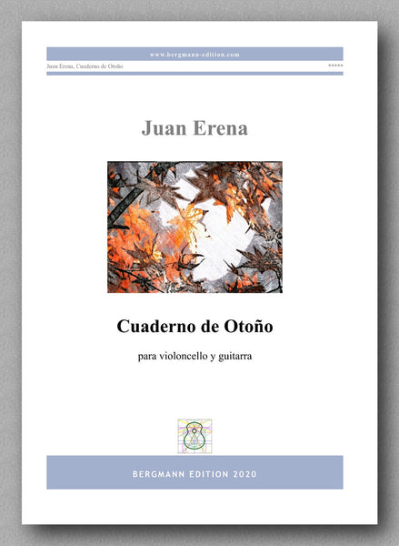 Juan Erena, Cuaderno de Otoño - preview of the cover