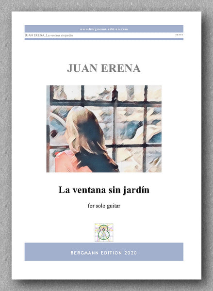 Juan Erena, La ventana sin jardín - preview of the  cover