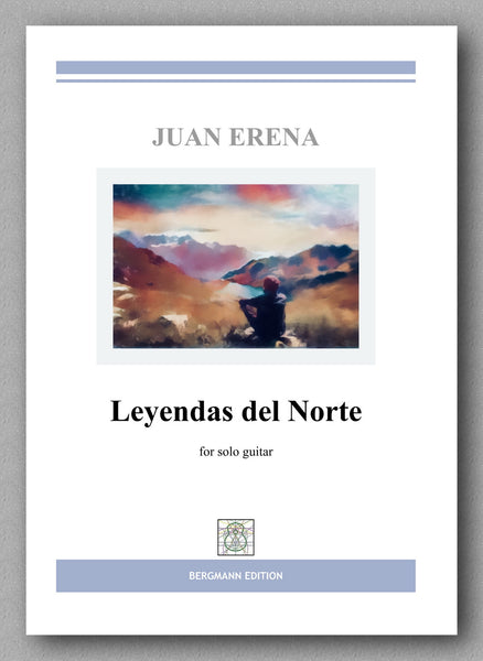 Juan Erena, Leyendas del Norte - preview of the cover