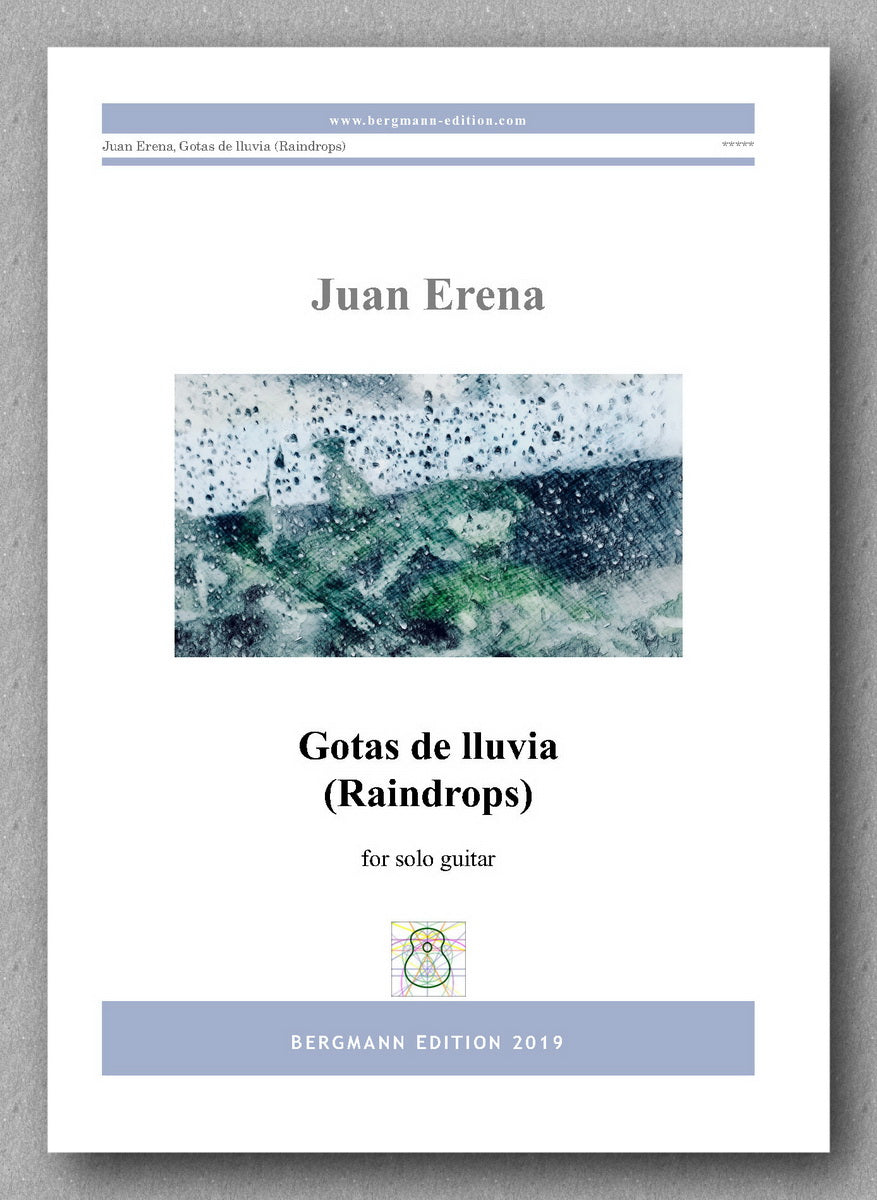 Juan Erena, Gotas de lluvia (Raindrops) - preview of the cover