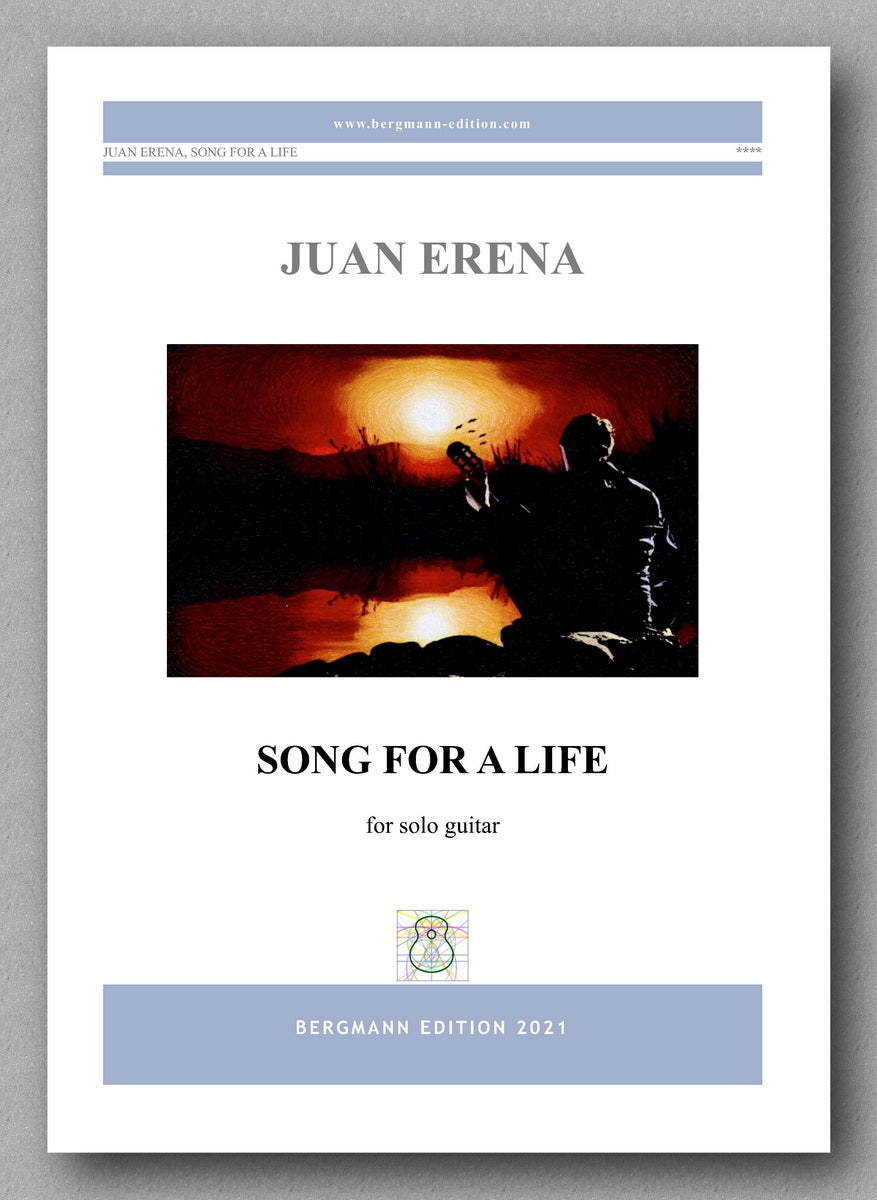 Juan Erena, Song for a Life - cover