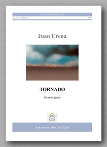 Juan Erena, TORNADO - preview of the cover