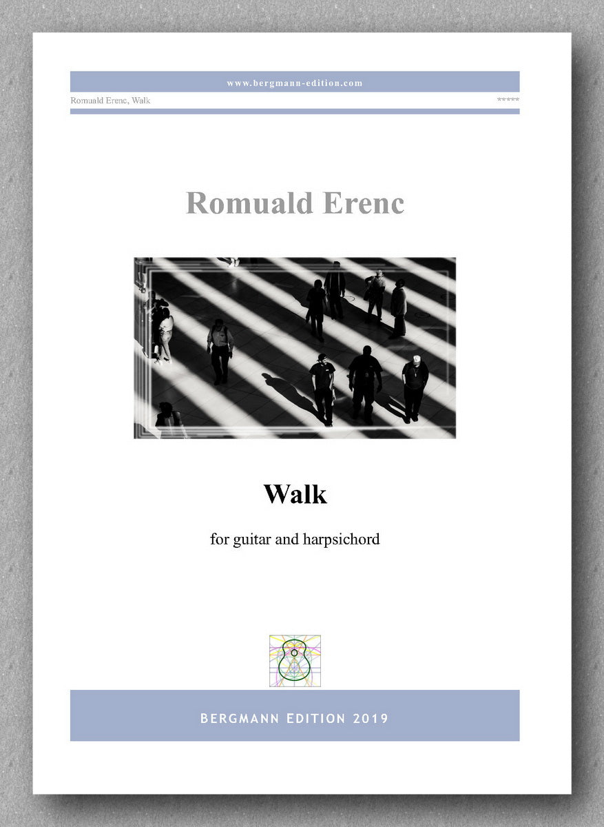 Romuald Erenc, Walk - preview of the cover