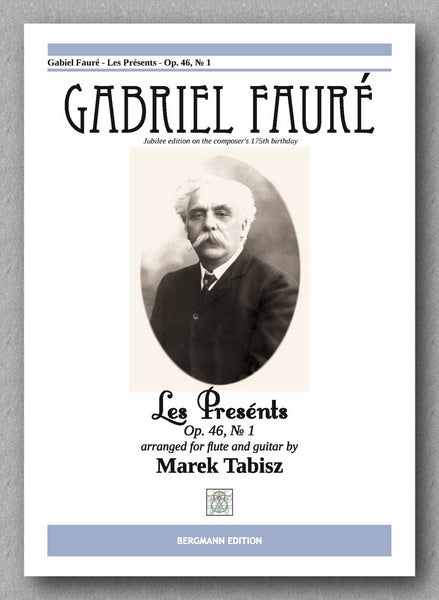 GABRIEL FAURÉ, LES PRËSENTS - Op. 46, № 1 - preview of the cover