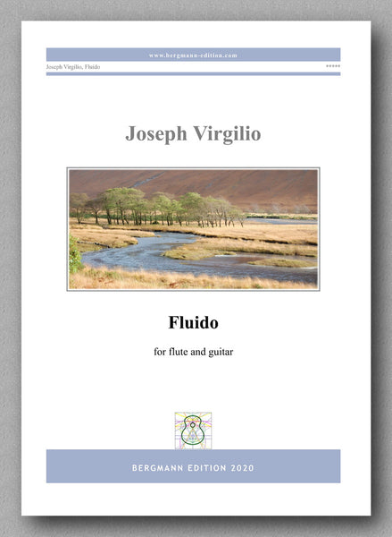 Joseph Virgilio, Fluido - preview of the cover