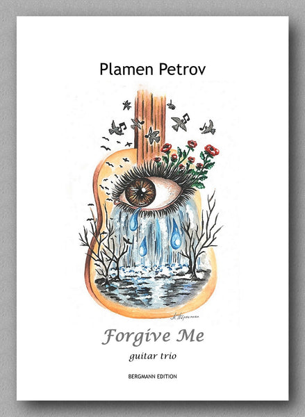Forgive Me, guitar trio by Plamen Petrov - preview of the cover