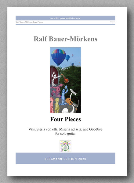Four Pieces by Ralf Bauer-Mörkens - preview of the cover