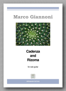 Giannoni, Cadenza and Rizoma - preview of the cover
