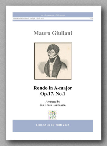 Rondo in A-major, Op.17, No.1 by  Mauro Giuliani - cover